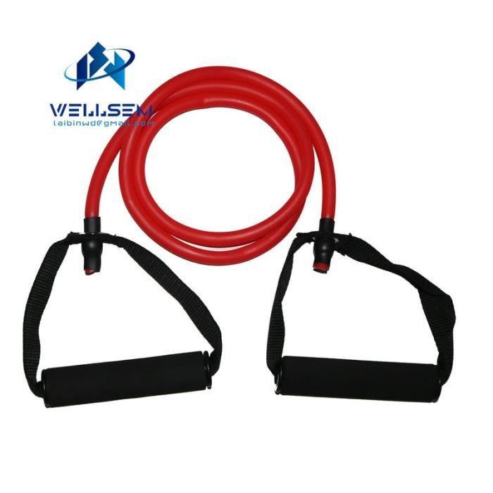 Accessoires Fitness - Musculation,Élastique Yoga tirer corde Fitness résistance bandes exercice Tubes entraînement - Type Rouge