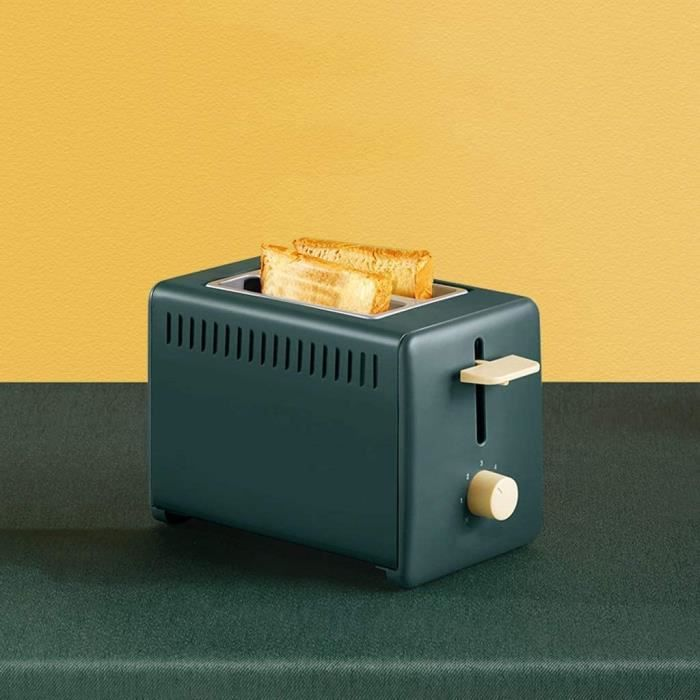 Grille Pain Toast Grille-pain Grille-pain de ménage Tranche Chauffage Petit déjeuner multifonctions machine Miette Ramasse