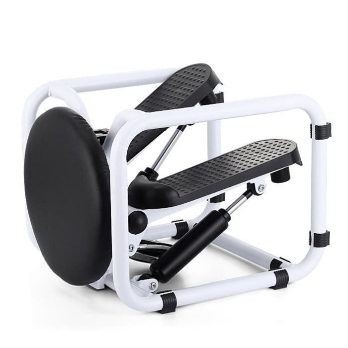 MOYOTEC Mini Stepper Twist multifonctionnel Portable Fitness entraînement Hydraulique avec Écran LCD et des Bandes maison gym