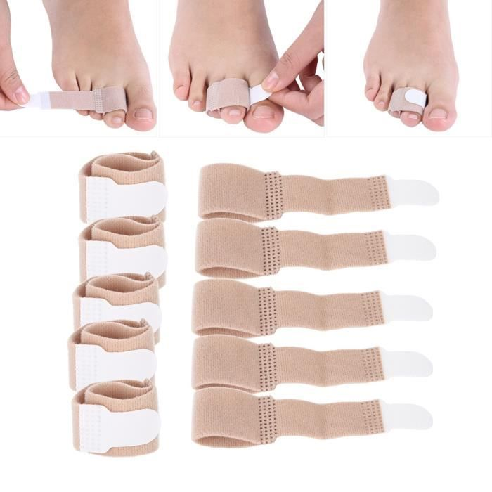 Sonew orthèses orthopédiques 10 pièces Hallux Valgus correcteur pouce orteils séparateur oignon ajusteur orthopédiques