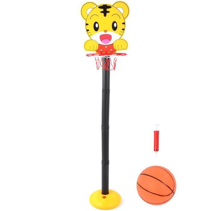 Support de panier de basket Enfants intérieur extérieur dessin animé station de levage panier de basket-ball support enfant sport
