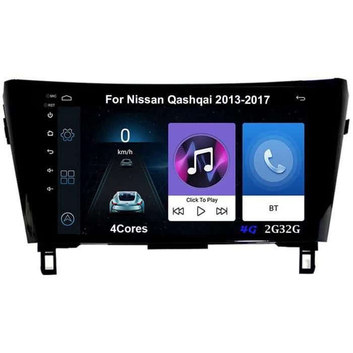 Autoradio 9 Inch Écran Tactile Voiture Multimédia Android Auto Pour Nissan Qashqai 2013-2017 Voiture Plug And Play Prend En Cha 428