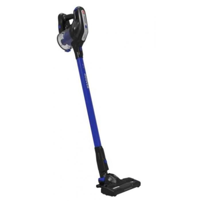 HOOVER Aspirateur Balai Sans sac 18V Bleu 25min d'autonomie Bac 0,7L