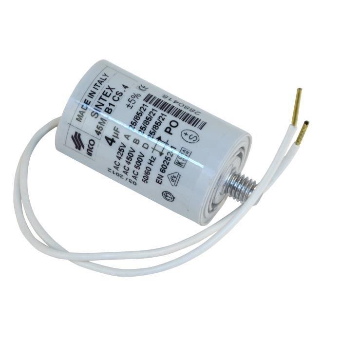 Condensateur pour moteur d origine - Condensate…