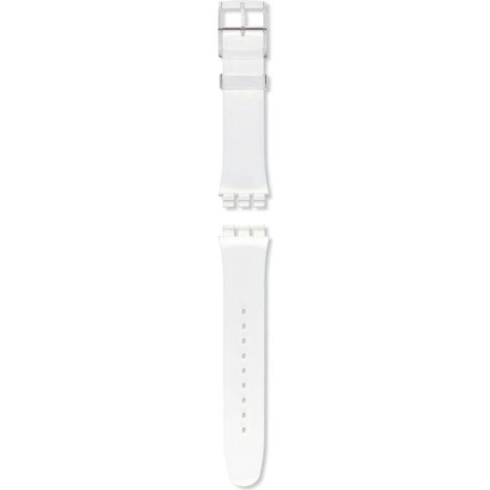 Bracelet De Montre Vendu Seul - SWATCH - Bracelet Swatch plastique transparent