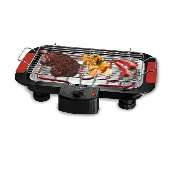 Barbecue de table Techwood TBQ-815 2000W