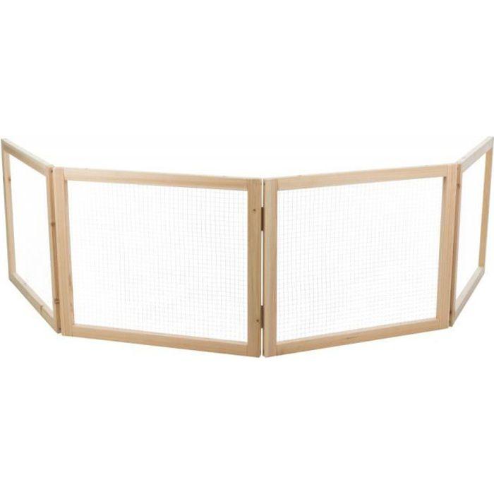 Enclos de 4 éléments de 60 × 50 cm pour rongeurs.-Trixie 65,000000