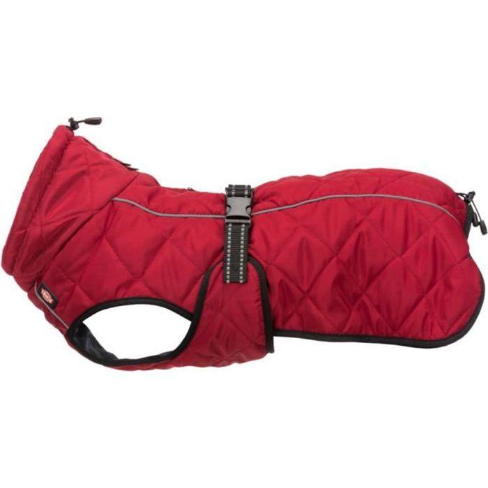 Manteau Minot taille XS- encolure max 30 cm. couleur rouge. pour chien.-Trixie 10,000000 Rouge