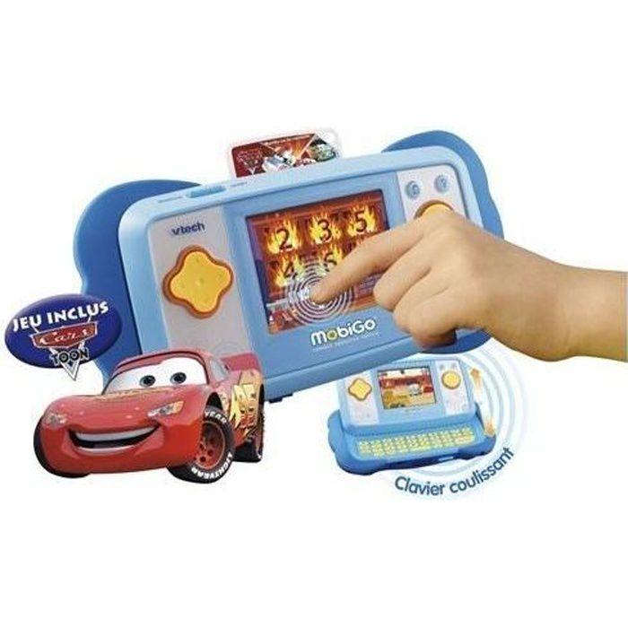 Console Mobigo + Jeu Cars Toon Inclus