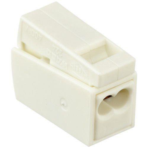 Wago 224-112 Lot de 100 bornes de connexion 2 voies pour luminaire 2,5 mm