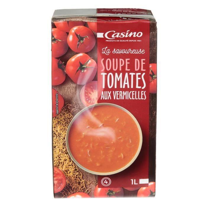 Soupe tomate vermicelle - 1 L