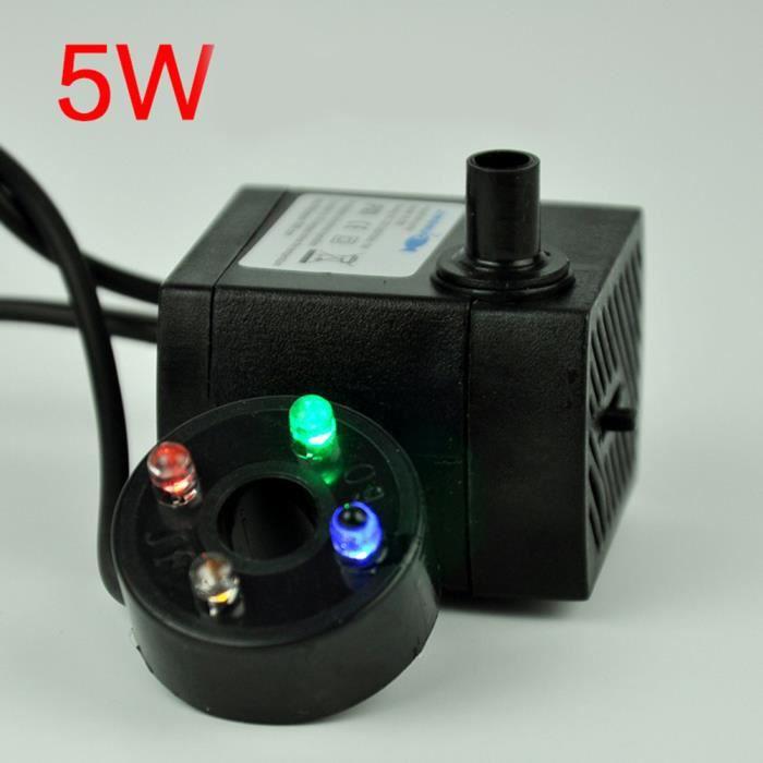 POMPE ARROSAGE Pompe à eau submersible puissante de 3 W avec flux
