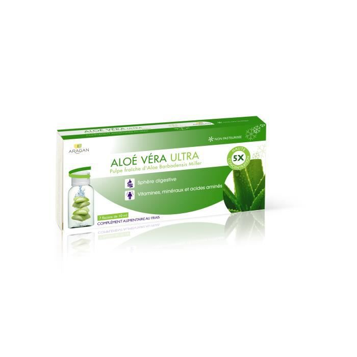 aragan aloe vera ultra digestion 7 x 10 ml achat vente digestion transit aragan aloe. Black Bedroom Furniture Sets. Home Design Ideas
