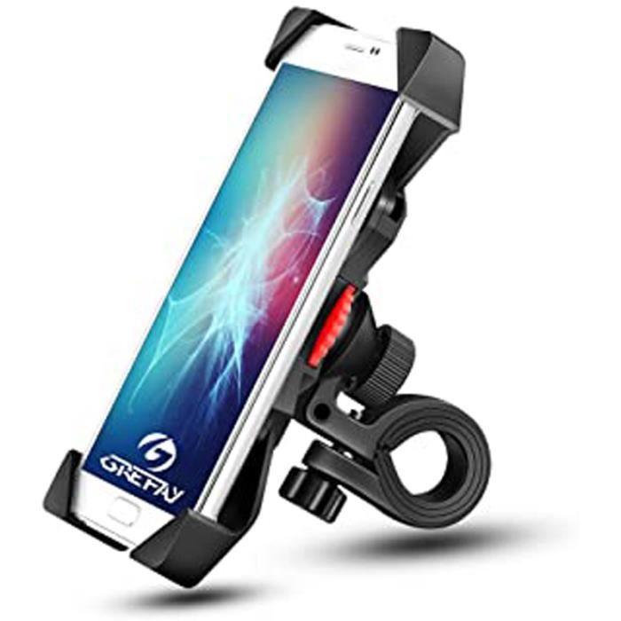 Support Universel 360° Guidon Vélo Moto VTT Scooter Téléphone Smartphone GPS