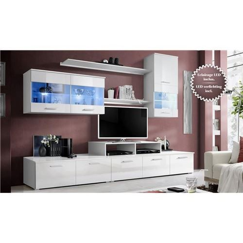 meuble tv design murale malone achat vente meuble tv meuble tv design murale malone cdiscount. Black Bedroom Furniture Sets. Home Design Ideas