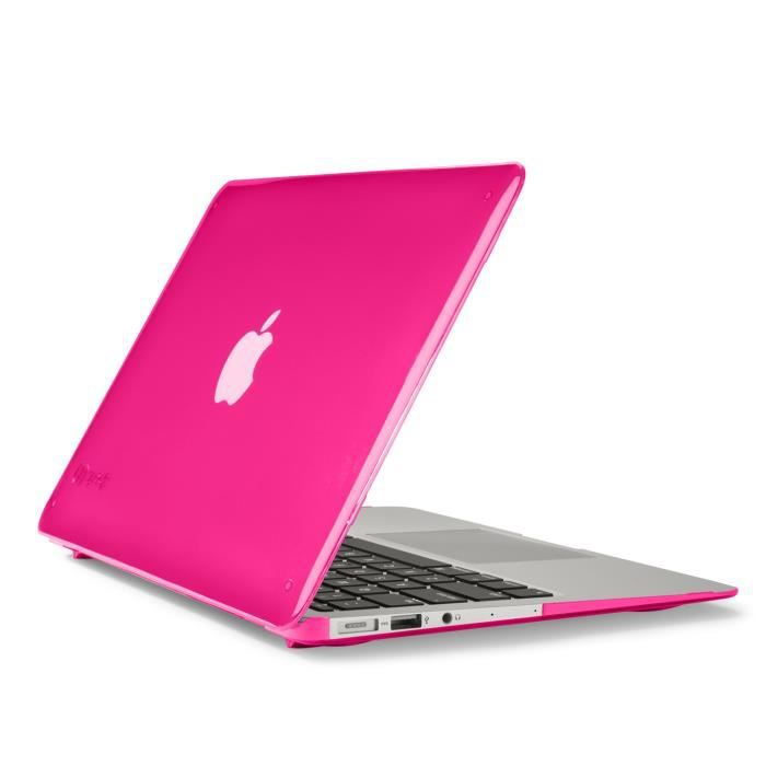 speck coque seethru macbook air 13 rose achat vente. Black Bedroom Furniture Sets. Home Design Ideas