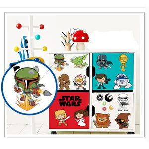 stickers muraux star wars achat vente stickers muraux star wars pas cher cdiscount. Black Bedroom Furniture Sets. Home Design Ideas