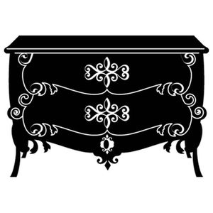 commode baroque noire achat vente commode baroque. Black Bedroom Furniture Sets. Home Design Ideas