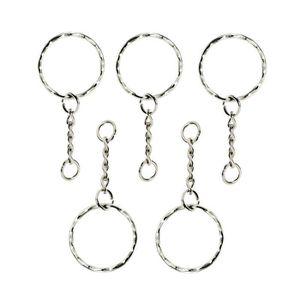 PORTE-CLÉS Porte-clés fendus avec chaîne et saut anneaux, por
