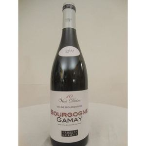 VIN ROUGE gamay duboeuf rouge 2011 - bourgogne france