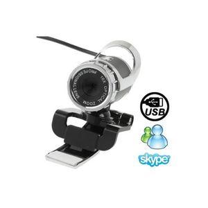 WEBCAM Webcam Pc, 5.0 Mega Pixels 10X Zoom numérique USB
