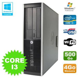 UNITÉ CENTRALE  PC HP Elite 8200 SFF Intel Core I3 3.1GHz 4Go Disq