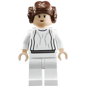 ASSEMBLAGE CONSTRUCTION LEGO Star Wars: Princess Leia (Blanc Habiller) Min