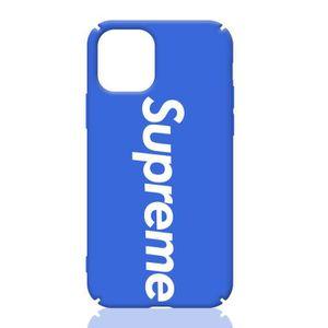 COQUE - BUMPER Coque iPhone 11,Supreme Bleu Coque Compatible iPho