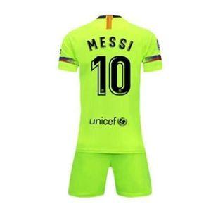MAILLOT DE FOOTBALL Barca Lionel Messi Maillot et Shorts de Football H