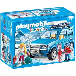 UNIVERS MINIATURE PLAYMOBIL 9281 - Family Fun - Voiture 4x4 de Monta