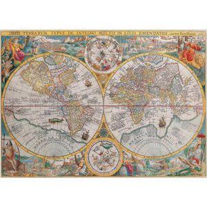 PUZZLE Puzzle 1500 pièces - Mappemonde en 1594