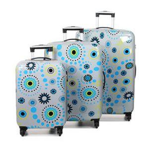 SET DE VALISES Ensemble de 3 valises original robust II, motif ro