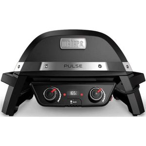 BARBECUE DE TABLE WEBER Barbecue électrique Pulse 2000 - Fonte d'aci