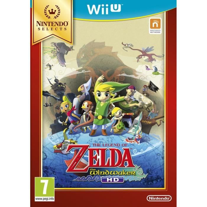 The Legend of Zelda The WindWaker HD Select Jeu Wii U