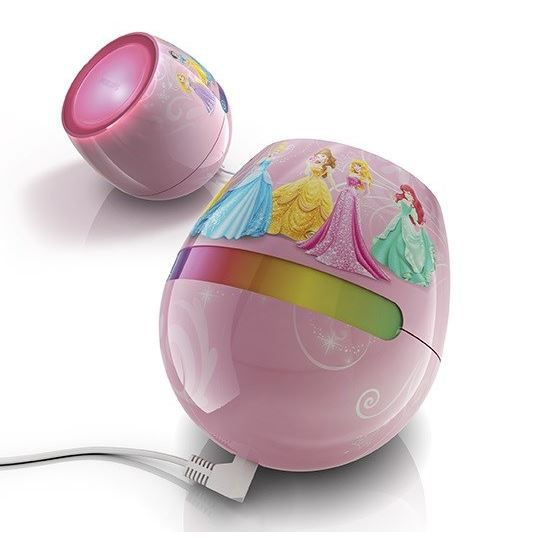 lampe a poser philips livingcolors led micro disney princess - Lampe Philips Color