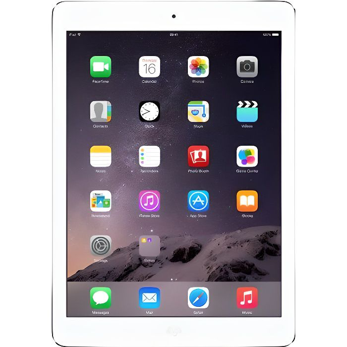 Apple iPad Air 16Go Silver Wi-Fi Cellular 4G
