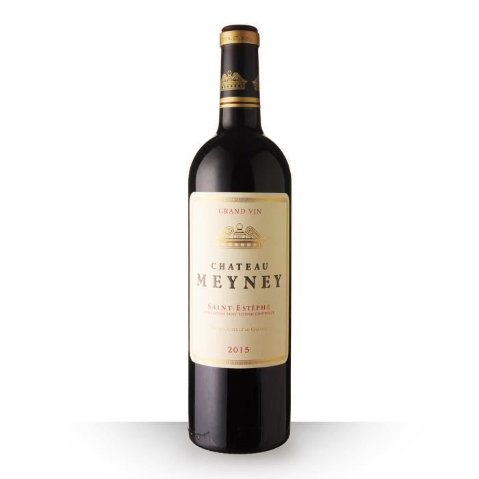 Château Meyney 2015 AOC Saint-Estèphe - 75cl - Vin Rouge