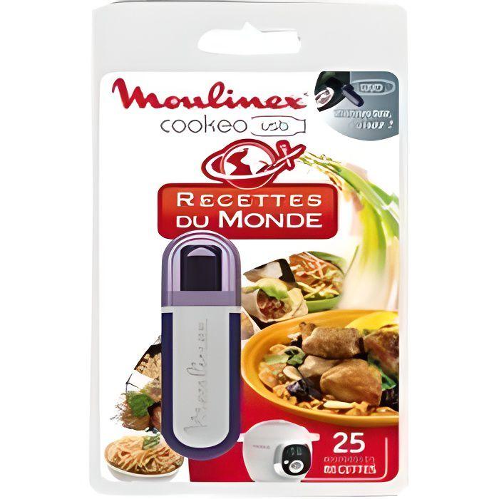 MOULINEX Accessoires XA600111 Clé USB thème du monde pour Cookeo