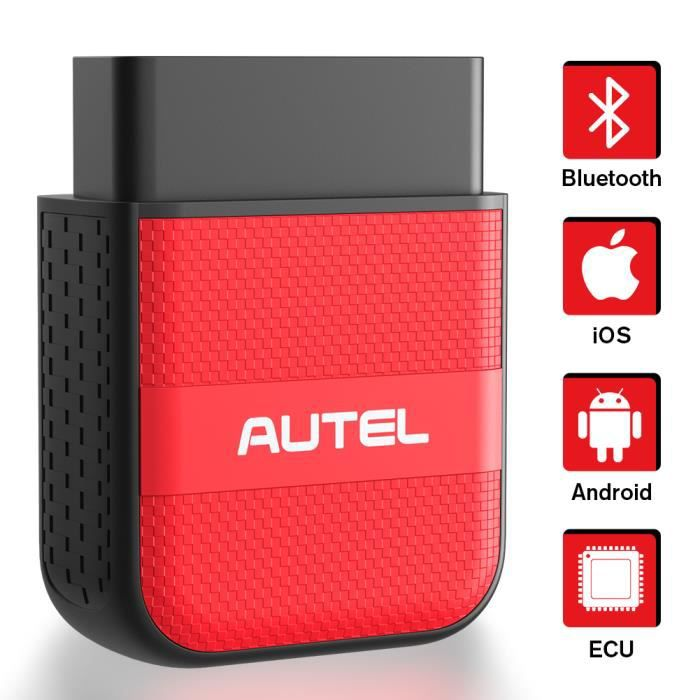 Autel AP200M OBDII Scanner Outil d'analyse de diagnostic Bluetooth Lecteur de code de lumière de moteur de vérification de voiture