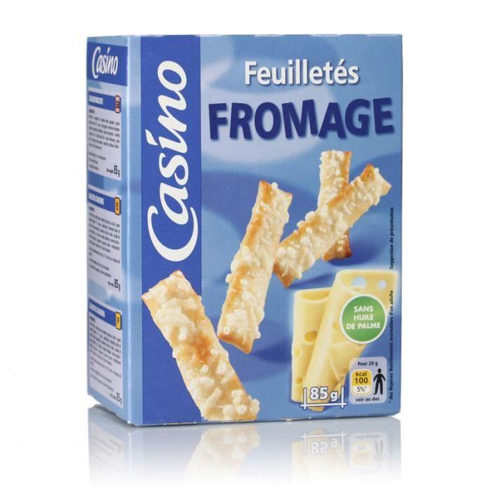 CASINO Feuilletés fromage - 85 g