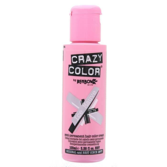 Crazy Color Renbow Coloration Cheveux Crème Semi-Permanent 100ml