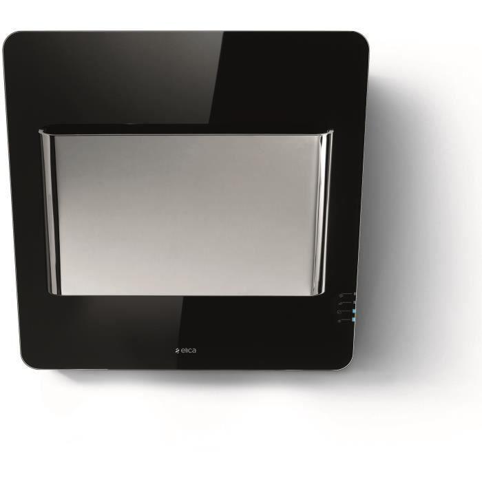ELICA PRF0050813B WAKE BL/F/55 - Hotte - Extraction ou filtration - Couleur noire et inox