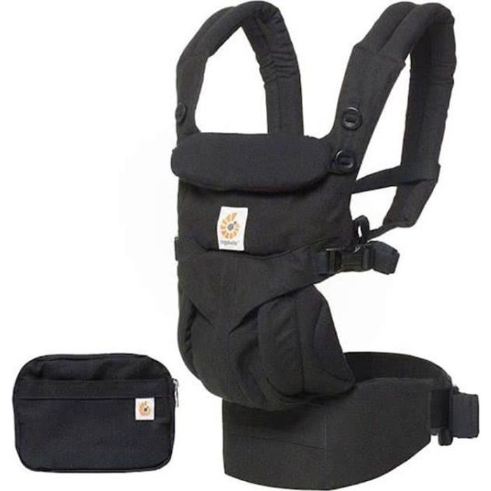 Ergobaby porte-bébé 4P 360 OMNI Noir pur