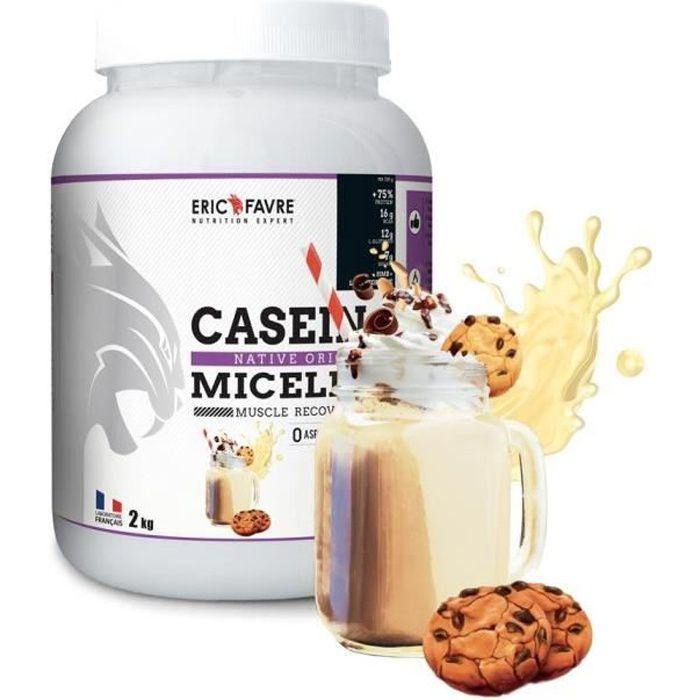 Eric Favre - Caseine + Cookies & cream - Proteines - Cookies & cream - 750g
