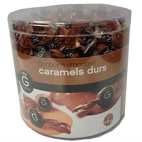 Mini bonbons d'accueil, Bonbon caramels durs, Mini bonbons pour salle s'attente, guichet réception, cabinet médical 1,4 KG