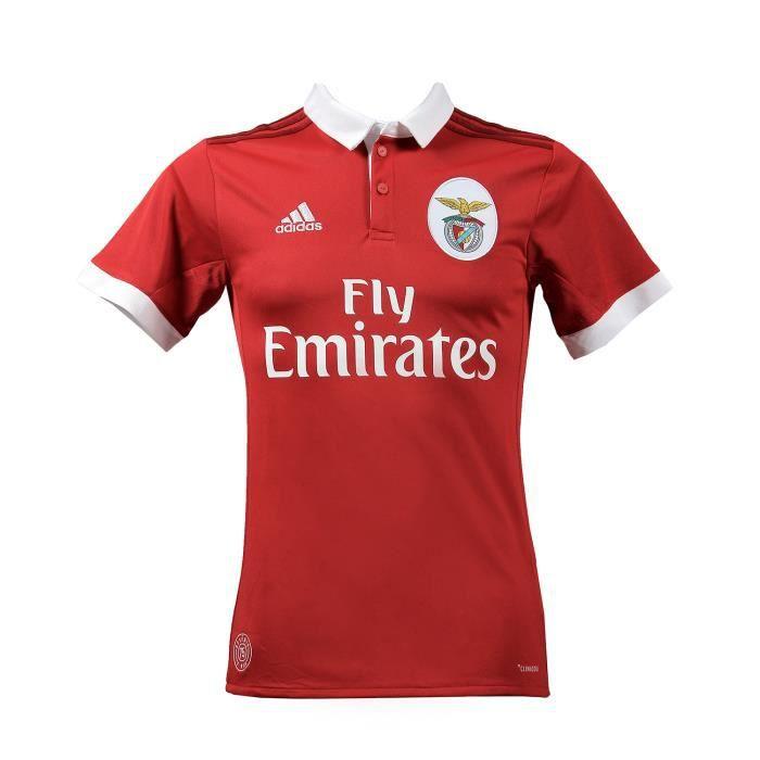 ADIDAS Maillot de football Benfica Domicile 17 - Mixte - Rouge