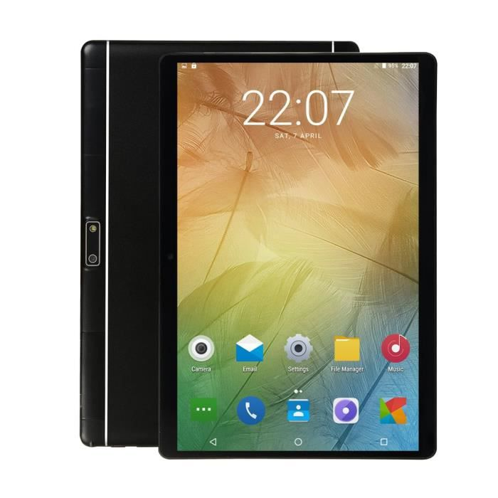 10.1 pouces pour Android 8.1 Tablet Pc 4Gb + 64Gb Wifi Ten Core tablette 13.0Mp Caméra