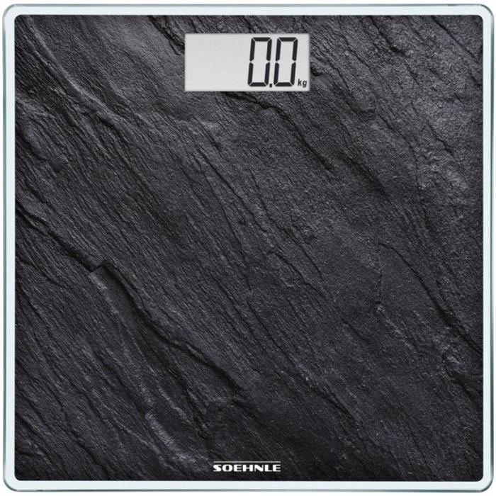 Pèse personne 180kg/100gr Style Sense Compact 300 ardoise