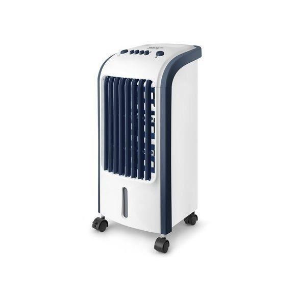 Rafraîchisseur d'air avec réservoir d'eau 5l 80w bleu blanc