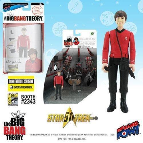 FIGURINE - PERSONNAGE Bif Bang Pow The Big Bang Theory Star Trek Howard